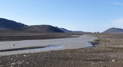 Un gué en Islande